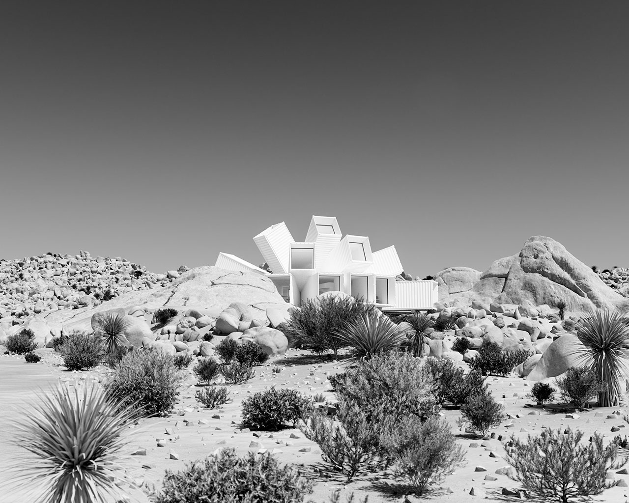 Screenshot of Whittaker Studio's Joshua Tree concept